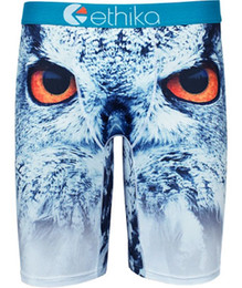 Wholesale S Owl - Ethika Men's Staple owl underwear boxers trunk hip hop rock excise underwear skateboard street fashion streched legging quick dry