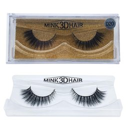 Wholesale Eyelashes Extensions For Sale - hot sale 3d Mink lashes Thick real mink HAIR false eyelashes natural for Beauty Makeup Extension fake Eyelashes false lashes 80 Models A181