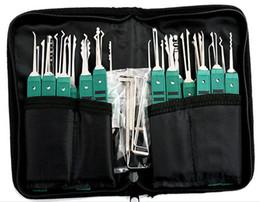 Klom 32 Pièces Verrouillage Picks LockSmith Outils cassé clé outils Verrouillage Pick Set Verrouillage pick Livraison gratuite ? partir de fabricateur