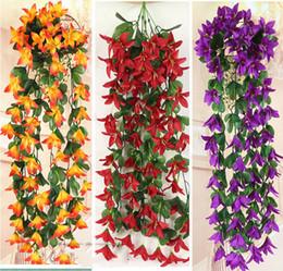 flores violetas artificiais Desconto 2018 Parede Da Hortênsia Flor Artificial Violeta Pendurado Na Parede Pano De Flor Artificial Fundo Do Casamento Da Parede Da Flor Decorativa