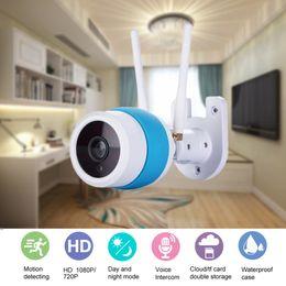 Wholesale outdoor intercom camera - Outdoor Waterproof Wifi Camera 720P CCTV Security Surveillance Wireless IP Camera AP Mode Baby Monitor Two Way Intercom IR
