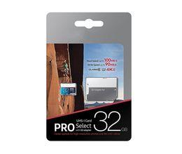 Canada 256 Go 128 Go NOUVEAU Vente 64 Go 32 Go PRO microSDXC 4K Micro SD 100 Mo / s UHS-I Class10 Carte mémoire portable DHL 2019 cheap i sd cards Offre