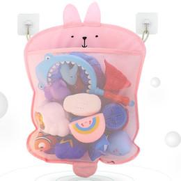 Sucker Sac Suspendu Salle De Bains Bain Cosmétique Jouets Sac De Rangement Enfant Bébé Articles De Toilette Sac De Rangement Cosmétique Jouets Organisateur ? partir de fabricateur