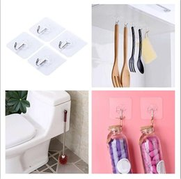 Wholesale Suction Cup Wall Hook - Factory Price!! Strong Transparent Suction Cup Sucker Wall Hooks Hanger For Kitchen Holder Bathroom Accessories Wall Storage Hangers