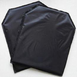 Chalecos con paneles online-10 '' x 12 '' Los tiradores cortan el panel balístico suave Placa protectora Aramid Kevlar / Twaron Los paneles del chaleco táctico de la placa suave, NIJ Nivel IIIA