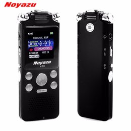 Wholesale Fastest Audio Player - NOYAZU V59 Fast Charging 16GB Stereo Recording Digital Audio Voice Recorder Noise Reduction Professional Dictaphone Mp3 Player