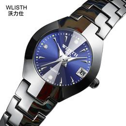 004d903e774 Nova Mulher De Aço De Tungstênio Relógio de Diamante Mulher Escala de Quartzo  Relógios Top Marca de Luxo Senhoras Relógio de Moda Relógio Calendário ...