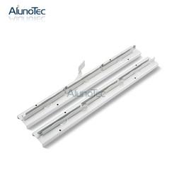 Wholesale Windows Door Roller - Aluno SF-400 model 6 Inch Clip 12 blades 1700mm Aluminium Louvre Door Frame