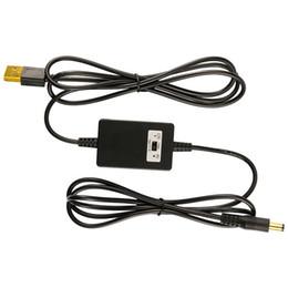 12v 9v ups online-Convertitore di tensione step-up regolabile DC 5v a DC 9v o 12v Convertitore USB a 5.5 x 2.1mm con selettore Interruttore di alimentazione