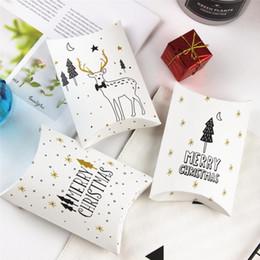 Noel Hediye Çantası Toptan Altın Renk Elk Ayı Düğün Hediyesi Kalay Sarar Şeker Kapakları ve Çerez Kutuları Kapakları cheap wholesale boxes for cookies nereden kurabiye toptan kutuları tedarikçiler