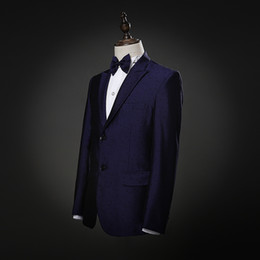 Wholesale Marriage Suits - Blazer men formal dress latest coat pant designs slim suit men costume homme terno trouser marriage wedding suits for men's