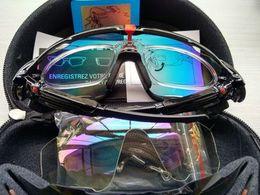 Wholesale Occhiali Da Sole Sunglasses - jawbreaker 2018 lunette de soleil homme with logo hot sale occhiali da sole uv400 Cycling Polarized sport jawbreaker poc sunglasses