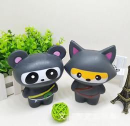 Argentina Kawaii Ninja Squishy Panda Lento Risinig Súper Suave Jumbo Squeeze Encantos de teléfono Stress Reliever Kids Regalo descompresión Suministro