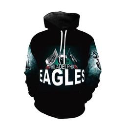 3D Hoodies Eagle Men Thin 3d Sweatshirts Avec Chapeau Imprimer Euramerican Funny Hoodie À Capuche Plus La Taille 5XL Pull ? partir de fabricateur