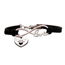 2019 regalos únicos mejores amigos Lindas mascotas perro encanto del corazón infinito amor pulseras perros únicos tienda mejor amigo regalos para mujeres hombres nueva antigüedad regalos únicos mejores amigos baratos