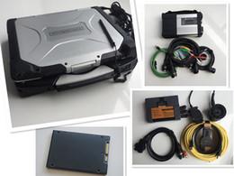 universeller schlüsseltransponder Rabatt 2in1 auto diagnositc tool für b mw icom a2 b c mit mb stern sd c5 verbinden in militärischen laptop cf-30 2018.12v software