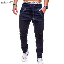 fashion wear flats Promo Codes - casual pants pant mens wear cagro pant trousers sweatpants hip hop fashion joggers new 2018 pantalon homme
