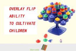 Schneeflocken puzzle spielzeug online-Baby Stacking Spielzeug Bunte Bausteine Spielzeug Schneeflocken verbinden Verriegelung Kunststoff Block Puzzle Spiele pädagogische DIY