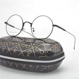 bf091773908 2018 Women Men Vintage Round Eyewear Frames Retro Optical Glasses Frame  Eyeglasses Goggle With box NX discount solid gold eyeglass frames