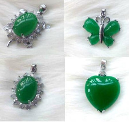 Wholesale white pearls buy - Malay Jade Pendant with chain Number of choose and buy