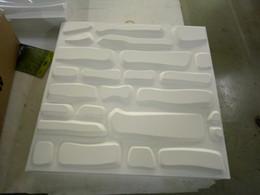 Kücheninnenraum online-Grünes Material für PVC-Wandpaneel der Garage 3d gute Zähigkeitinnenverkleidungsküchenwandbrett