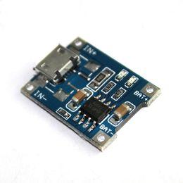 placa del cargador del ion del litio Rebajas 5 unids Micro USB 5 V 1A 18650 TP4056 Módulo de Cargador de Batería de Litio kit de bricolaje Junta de Carga con Protección Funciones Duales 1A Li-ion