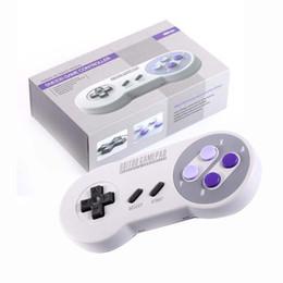 contrôleur double joystick Promotion Joystick classique sans fil Bluetooth / USB-C 8Bits do Contrôleur Dual Pc SF30 Pro / SN30 Pro / SNES30 pour iOS Android Gamepad PC 0801108