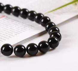 2019 material para hacer pulseras al por mayor. Accesorios de bricolaje de perlas negras. Pulsera de mano negra Venta directa de fabricantes de venta al por mayor de perlas