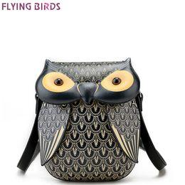 Wholesale flying owls - FLYING BIRDS Owl Famous Brand Bags Women Leather Handbags Shoulder Bolsas Top quality Mini Women's Messenger bags Designer Tote