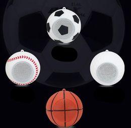 Wholesale mini golf - Creative gift wireless mini Bluetooth speaker spherical football basketball baseball golf small stereo outdoor sports player