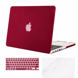 Mosiso caso de escudo duro para macbook pro 13 retina 2013 2014 2015 a1502 a1425 + tampa do teclado de silicone + protetor de tela cheap macbook pro 13 case keyboard cover de Fornecedores de capa do teclado do caso do macbook pro 13