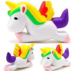Wholesale Lovely Perfume - Unicorn Squishy Horse Relief Perfume Slow Rising Scented Fidget Squeeze Kids Adult Toys Cute Lovely Soft Gift Decoration DHL Free Shipping