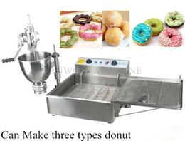 Wholesale Deep Fryer Electric - Commercial Manual Breakwater Donut ,Ball Donut,Fry Donut Maker Making Machine;Donut Doughnut Maker Machine and Electric Deep Fryer