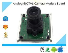 Wholesale Infrared Board - Luckertech Analog 600TVL Camera Module Board Infrared Filter M12 Lens 38*38mm DC 12V CCTV Security Survillance