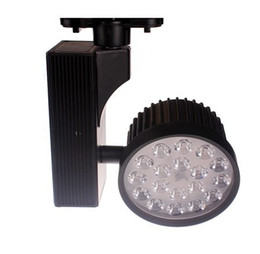 Wholesale Ac Rail - 9w led Track light guide rail clothes ming mounted spotlights high power led spotlights AC 85-265V