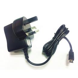 Caricabatterie da muro 5V 1A UK Mains Casa per il cellulare Tablet GPS Mp3 Mp4 And More da