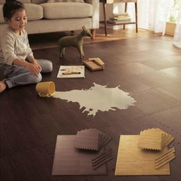 Wholesale Copy Machine Wholesalers - Baby EVA foam puzzle play mat 4pcs Interlocking Exercise floor mat 30cm*30cm baby gym crawling mats playmat children carpet D3