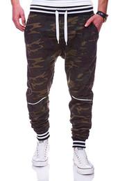 Wholesale Mens Bootcut Casual Pants - Brand Men Pants Hip Hop Harem Joggers Pants 2017 Male Trousers Mens Joggers Camouflage Sweatpants Plus Size 4XL
