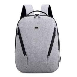 Costas laptop on-line-mochila masculina do portátil da mochila do caderno da trouxa do roubo anti do desenhista homens de negócio dos bens de viagem de 14 polegadas para a escola