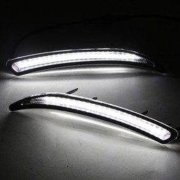 led light for cars flashing Coupons - Car Flashing 2Pcs Car LED DRL For Regal GS Insignia 2010 2011 2012 2013 2014 2015 Fog Cover Daytime Running Lights