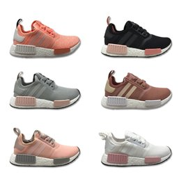 Wholesale ladies summers shoes - 2018 NMD Women Running Shoes Size 36-39 Lady Leisure Shoes Hot Sale Various Color Sports Shoes