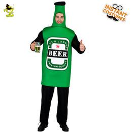 2019 robes de fantaisie adultes Bière Costume De Bière Bière Emoji Vêtements Jeu de Rôle Déguisement Adulte Onepiece Combinaison Carnaval Costumes De Fête Taille Unique promotion robes de fantaisie adultes