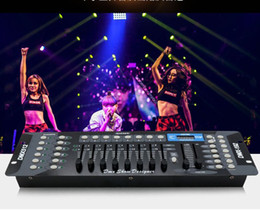 dmx controllore della testa mobile Sconti Hot sell 192 DMX controller, stage lighting DJ equipment For led par, spotlights moving heads Free shipping MYY
