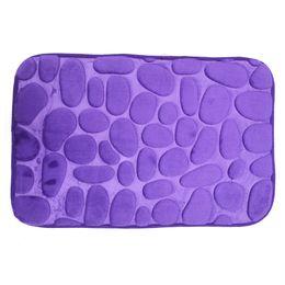 Wholesale Mattress Kit - Coral Fleece Bathroom Memory Foam Rug Kit Toilet Pattern Bath Non-slip Mats Floor Carpet Set Mattress for Bathroom Decor