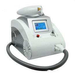 Nd yag prezzo della macchina laser online-2018 Home CE approvato tatuaggio macchina prezzo / portatile 1064 532nm Q commutato ND Yag Laser