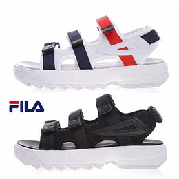 Wholesale red kittens - Original  II 2 men women Summer Sandals black white red Anti-slipping Quick-drying Outdoor slippers Soft Water Shoes Beach Sandals