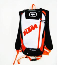 ktm sportfahrrad Rabatt Neue KTM Motorrad Tasche Motocross Offroad Racing Rucksack mit TPU Wasserbeutel Fahrrad Sport Luguage Pack