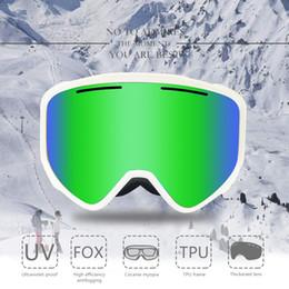 6e9df9e799c Ski Goggles 2018 boihon New Brand Professional Anti-fog Lens UV400 Big  Spherical Men Women Ski Glasses Skiing snowboard goggles