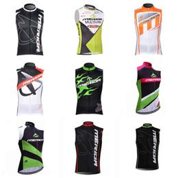 Wholesale Tour France Vests - 2018 Tour de France team MERIDA cycling vest jersey bike quick dry mens pro cycling wear bicycle C1504
