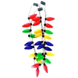 Canada Collier de Noël LED Light Up Ampoule Party Favors Pour adultes ou enfants comme un cadeau de nouvel an Offre